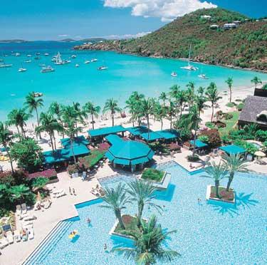 St John The Westin Resort Villas Is A 34 Acre Paradise Set Along Cove Of White Sand Beach Surrounded By Thick Soft Gr And Colorful
